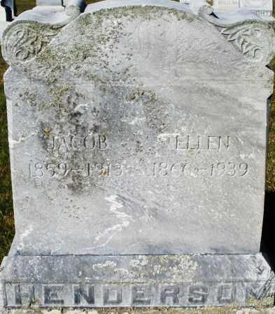 HENDERSON, ELLEN - Darke County, Ohio | ELLEN HENDERSON - Ohio Gravestone Photos