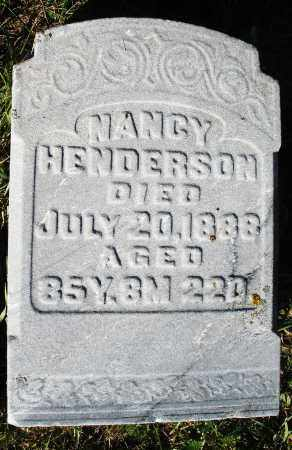 HENDERSON, NANCY - Darke County, Ohio | NANCY HENDERSON - Ohio Gravestone Photos