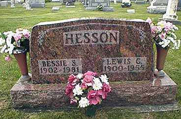 "HESSON, SUSAN ""BESSIE"" - Darke County, Ohio 