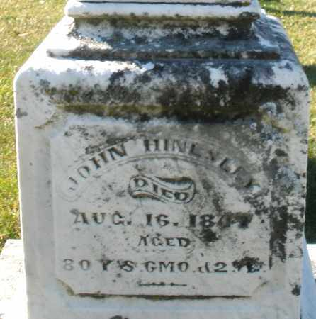 HINDSLEY, JOHN - Darke County, Ohio | JOHN HINDSLEY - Ohio Gravestone Photos