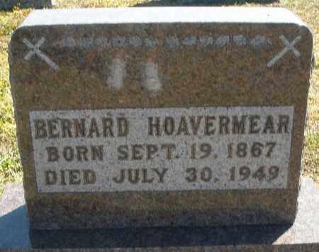HOAVERMEAR, BERNARD - Darke County, Ohio | BERNARD HOAVERMEAR - Ohio Gravestone Photos