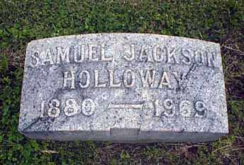 HOLLOWAY, SAMUEL JACKSON - Darke County, Ohio | SAMUEL JACKSON HOLLOWAY - Ohio Gravestone Photos