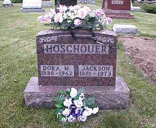HOSCHOUER, DORA MAY - Darke County, Ohio | DORA MAY HOSCHOUER - Ohio Gravestone Photos