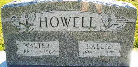 HOWELL, WALTER - Darke County, Ohio | WALTER HOWELL - Ohio Gravestone Photos