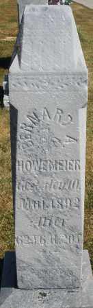 HOWEMEIER, BERNARD A. - Darke County, Ohio | BERNARD A. HOWEMEIER - Ohio Gravestone Photos