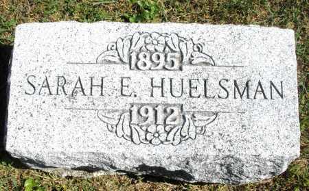HUELSMAN, SARAH E. - Darke County, Ohio | SARAH E. HUELSMAN - Ohio Gravestone Photos