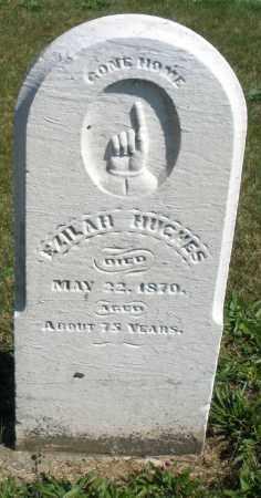 HUGHES, EZILAH - Darke County, Ohio   EZILAH HUGHES - Ohio Gravestone Photos