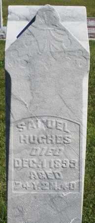 HUGHES, SAMUEL - Darke County, Ohio | SAMUEL HUGHES - Ohio Gravestone Photos