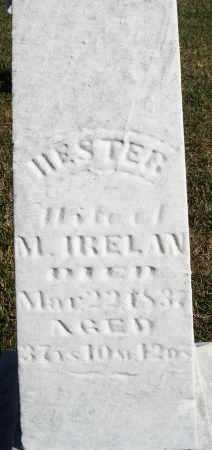 IRELAN, HESTER - Darke County, Ohio | HESTER IRELAN - Ohio Gravestone Photos