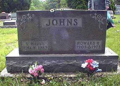 JOHNS, HOWARD HAMLIN - Darke County, Ohio | HOWARD HAMLIN JOHNS - Ohio Gravestone Photos