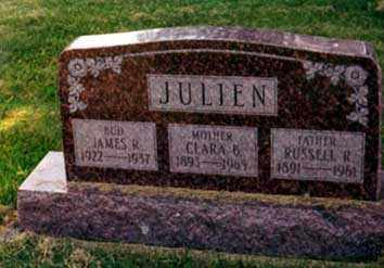 CASSEL JULIEN, CLARA B. - Darke County, Ohio | CLARA B. CASSEL JULIEN - Ohio Gravestone Photos