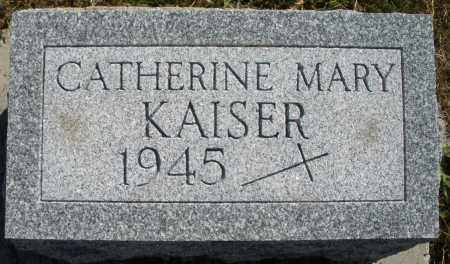 KAISER, CATHERINE MARY - Darke County, Ohio | CATHERINE MARY KAISER - Ohio Gravestone Photos