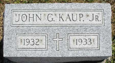KAUP, JOHN G. JR. - Darke County, Ohio | JOHN G. JR. KAUP - Ohio Gravestone Photos