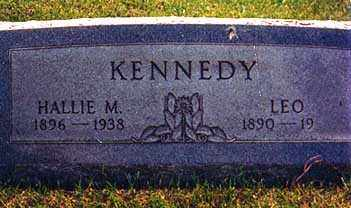 CONAWAY KENNEDY, HALLIE MARIE - Darke County, Ohio | HALLIE MARIE CONAWAY KENNEDY - Ohio Gravestone Photos