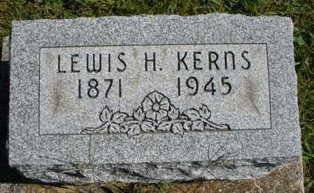 KERNS, LEWIS H. - Darke County, Ohio | LEWIS H. KERNS - Ohio Gravestone Photos