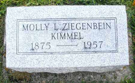 KIMMEL, MOLLY L. - Darke County, Ohio | MOLLY L. KIMMEL - Ohio Gravestone Photos