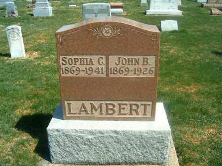 LAMBERT, JOHN  B - Darke County, Ohio | JOHN  B LAMBERT - Ohio Gravestone Photos