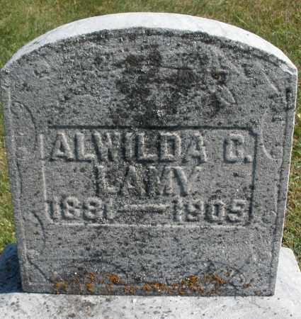 LAMY, ALWILDA - Darke County, Ohio | ALWILDA LAMY - Ohio Gravestone Photos