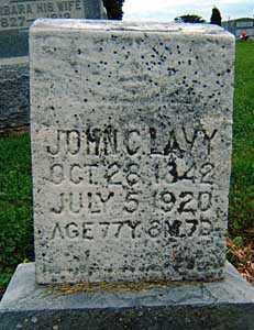 LAVY, JOHN C. - Darke County, Ohio | JOHN C. LAVY - Ohio Gravestone Photos