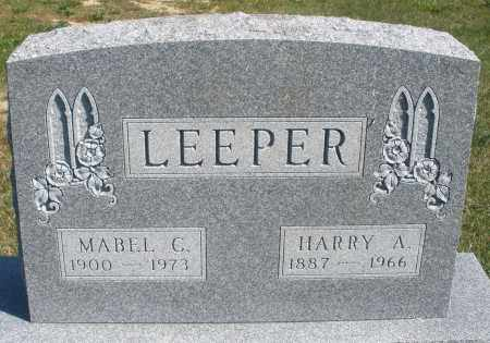 LEEPER, MABEL C. - Darke County, Ohio | MABEL C. LEEPER - Ohio Gravestone Photos