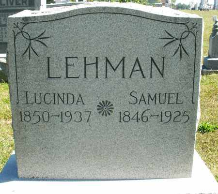 LEHMAN, LUCINDA - Darke County, Ohio | LUCINDA LEHMAN - Ohio Gravestone Photos