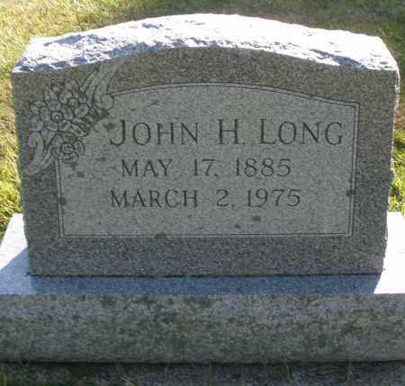 LONG, JOHN H. - Darke County, Ohio | JOHN H. LONG - Ohio Gravestone Photos