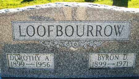 LOOFBOURROW, BYRON D. - Darke County, Ohio | BYRON D. LOOFBOURROW - Ohio Gravestone Photos