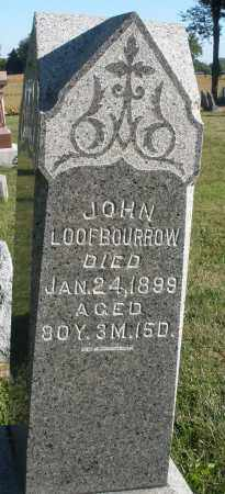 LOOFBOURROW, JOHN - Darke County, Ohio | JOHN LOOFBOURROW - Ohio Gravestone Photos
