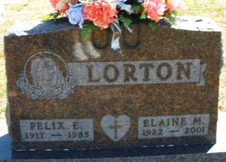 LORTON, ELAINE M. - Darke County, Ohio | ELAINE M. LORTON - Ohio Gravestone Photos