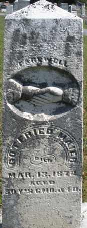 MAIER, GOTFRIED - Darke County, Ohio | GOTFRIED MAIER - Ohio Gravestone Photos