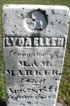 MARKER, LYDA ELLEN - Darke County, Ohio | LYDA ELLEN MARKER - Ohio Gravestone Photos