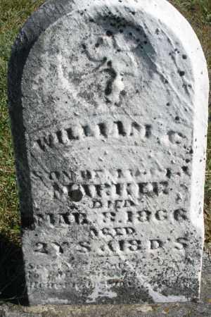 MARKER, WILLIAM C. - Darke County, Ohio | WILLIAM C. MARKER - Ohio Gravestone Photos