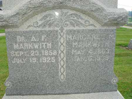 MARKWITH, MARGARET W. - Darke County, Ohio | MARGARET W. MARKWITH - Ohio Gravestone Photos