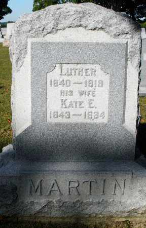 MARTIN, LUTHER - Darke County, Ohio | LUTHER MARTIN - Ohio Gravestone Photos