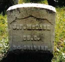 MCCABE, J. F. - Darke County, Ohio | J. F. MCCABE - Ohio Gravestone Photos