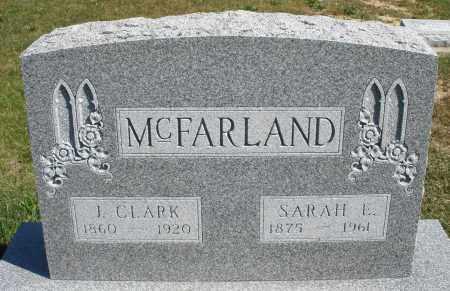 MCFARLAND, J. CLARK - Darke County, Ohio | J. CLARK MCFARLAND - Ohio Gravestone Photos