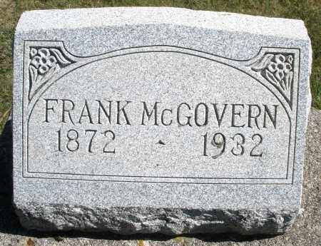MCGOVERN, FRANK - Darke County, Ohio | FRANK MCGOVERN - Ohio Gravestone Photos