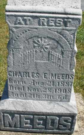 MEEDS, CHARLES E. - Darke County, Ohio | CHARLES E. MEEDS - Ohio Gravestone Photos