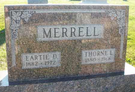 MERRELL, EARTIE D. - Darke County, Ohio | EARTIE D. MERRELL - Ohio Gravestone Photos