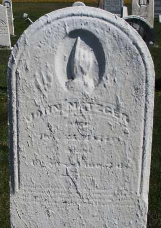 METZGAR, JOHN - Darke County, Ohio | JOHN METZGAR - Ohio Gravestone Photos