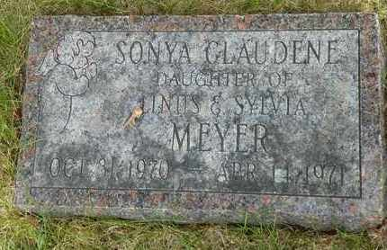 MEYER, SONYA CLAUDENE - Darke County, Ohio | SONYA CLAUDENE MEYER - Ohio Gravestone Photos