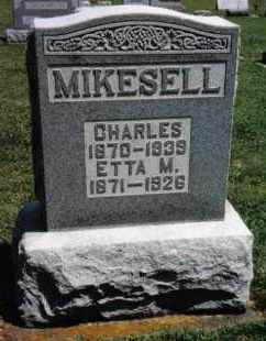 MIKESELL, ETTA M. - Darke County, Ohio | ETTA M. MIKESELL - Ohio Gravestone Photos