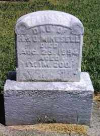 MIKESELL, FLOSSIE - Darke County, Ohio | FLOSSIE MIKESELL - Ohio Gravestone Photos