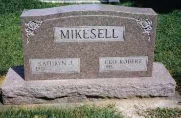MIKESELL, GEO. ROBERT - Darke County, Ohio | GEO. ROBERT MIKESELL - Ohio Gravestone Photos