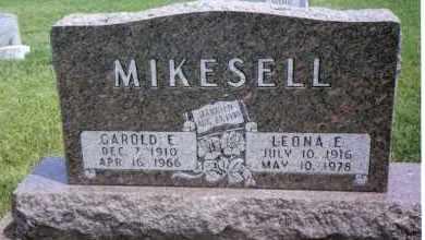 MIKESELL, LEONA E. - Darke County, Ohio | LEONA E. MIKESELL - Ohio Gravestone Photos
