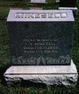 MIKESELL, IRENE M. - Darke County, Ohio | IRENE M. MIKESELL - Ohio Gravestone Photos