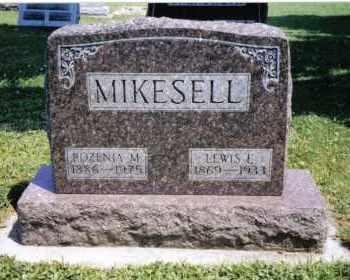 MIKESELL, ROZENIA M. - Darke County, Ohio | ROZENIA M. MIKESELL - Ohio Gravestone Photos