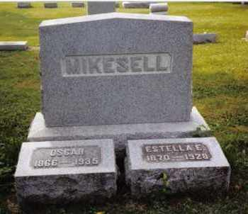 MIKESELL, ESTELLA E. - Darke County, Ohio | ESTELLA E. MIKESELL - Ohio Gravestone Photos