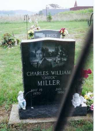 MILLER, CHARLES WILLIAM - Darke County, Ohio   CHARLES WILLIAM MILLER - Ohio Gravestone Photos