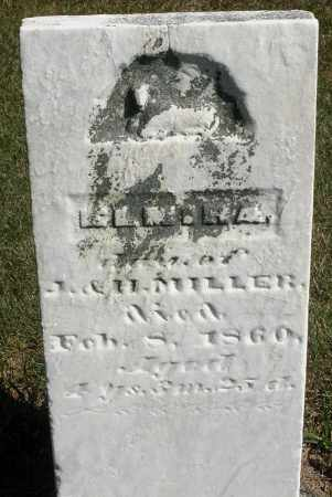 MILLER, ELMIRA - Darke County, Ohio | ELMIRA MILLER - Ohio Gravestone Photos
